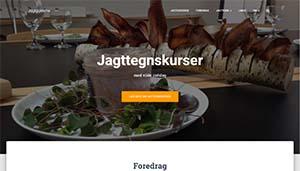 Jagtguidernes hjemmeside er udført af WebsitterService