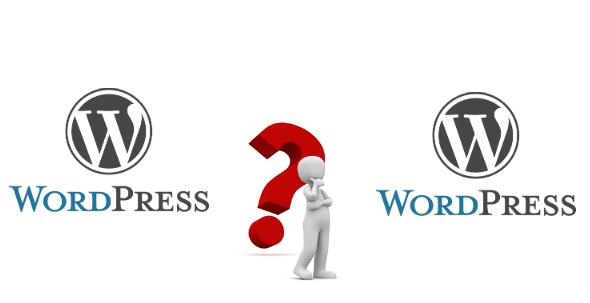 WordPress findes i 2 udgaver. Det kan være svært at vælge