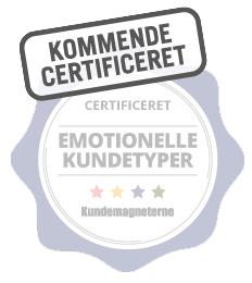 Jeg er kommende certificeret i kundetyperne